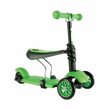 Yvolution Glider Seat 3 в 1 зеленый