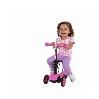 Yvolution Glider Seat 3 в 1 розовый