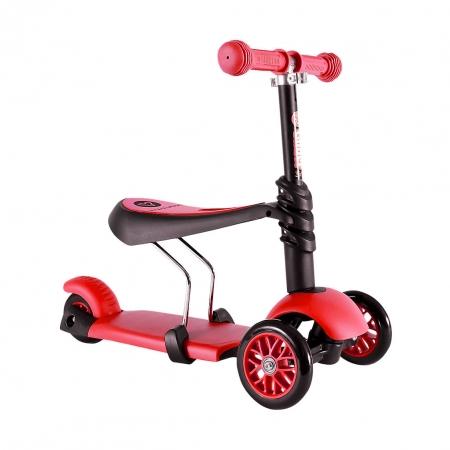 Yvolution Glider Seat 3 в 1 красный