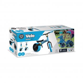 Yvolution Velo Junior черно-голубой